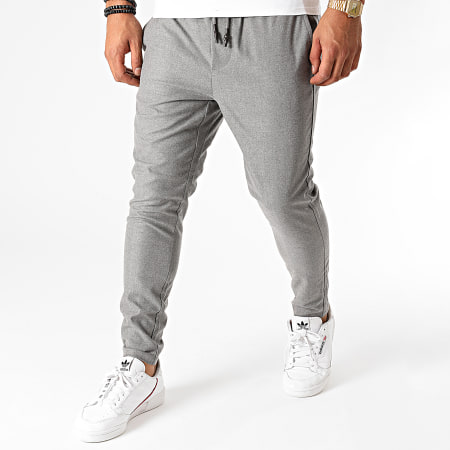 Only And Sons - Pantalon Linus Gris Chiné