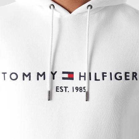 Tommy Hilfiger - Sweat Capuche Tommy Logo 1599 Blanc