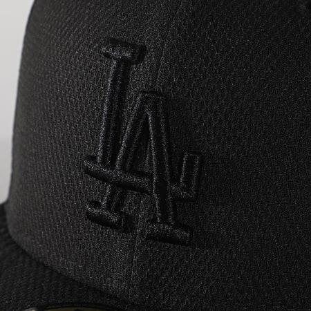 New Era - Casquette Fitted 59Fifty Diamond Era 12040295 Los Angeles Dodgers Noir