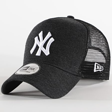 New Era - Casquette Trucker Jersey Essential 12490229 New York Yankees Gris Anthra Chiné