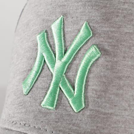 New Era - Casquette Trucker Jersey Essential 12490235 New York Yankees Gris Chiné