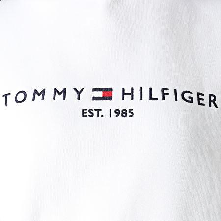 Tommy Hilfiger - Sweat Capuche Femme Essential 6410 Blanc