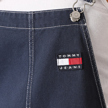 Tommy Jeans - Robe Salopette Femme Dungaree 8879 Bleu Marine