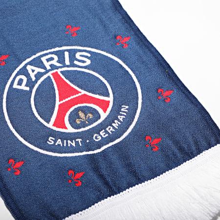 PSG - Echarpe Paris Saint-Germain All Over P13728 Bleu Marine