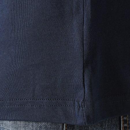 adidas - Tee Shirt A Bandes Classics GD2072 Bleu Marine Rouge