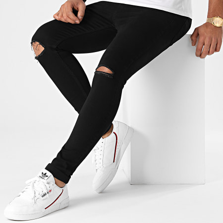 LBO - Jean Super Skinny Fit Destroy 1417 Noir