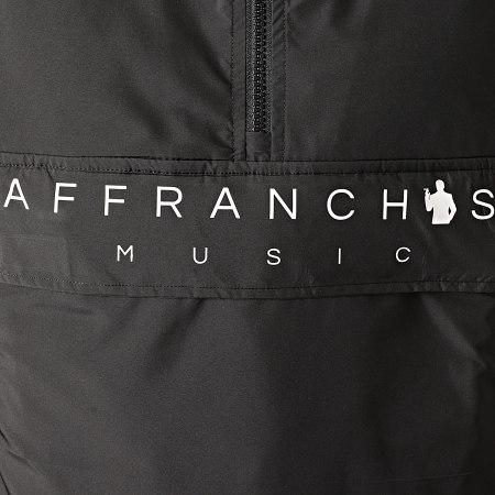 Sofiane - Coupe-Vent Affranchis Music Noir Blanc