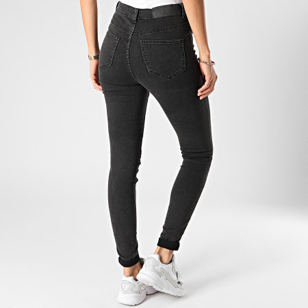 Noisy May - Jean Skinny Femme Callie Gris Anthracite