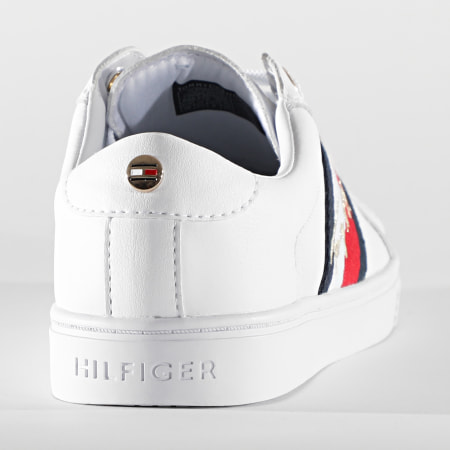 Tommy Hilfiger - Baskets Femme The Signature Cupsole Sneaker 5224 White