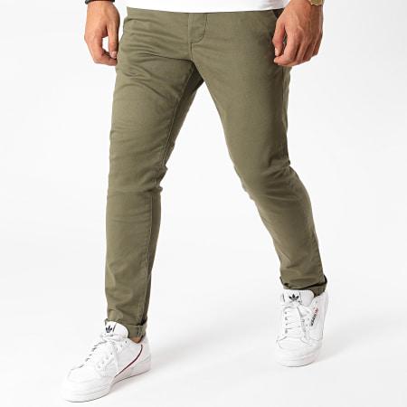 Produkt - Pantalon Chino AKM Coins Vert Kaki