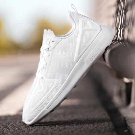 adidas - Baskets ZX 2K Flux FV9972 Footwear White Grey One