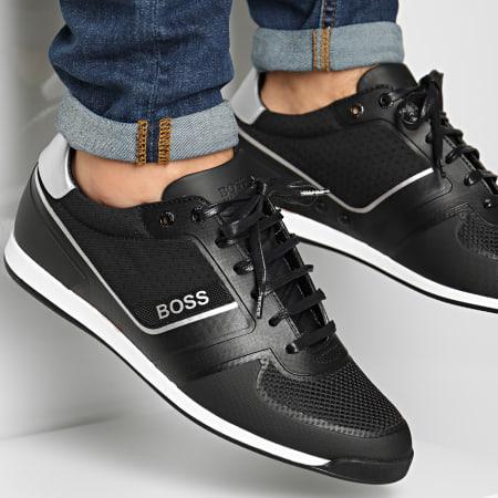 BOSS By Hugo Boss - Baskets Glaze Lowp 50439393 Black
