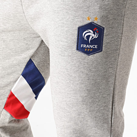 FFF - Pantalon Jogging F20017 Gris Chiné