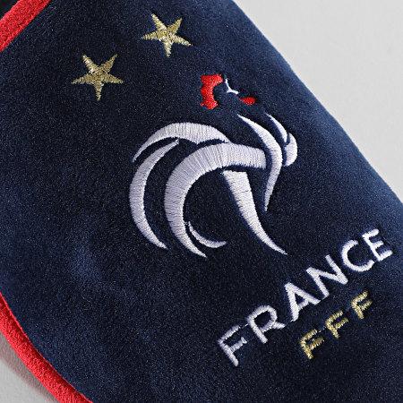FFF - Pantoufles Fan F20031 Bleu Marine