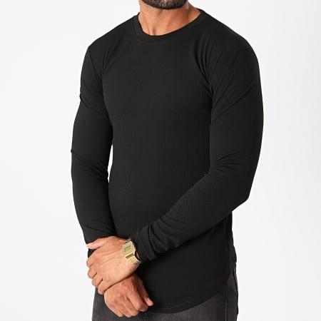 Frilivin - Tee Shirt Manches Longues Oversize 5522 Noir