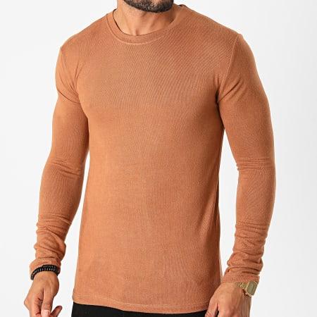 Frilivin - Tee Shirt Manches Longues 5529 Camel