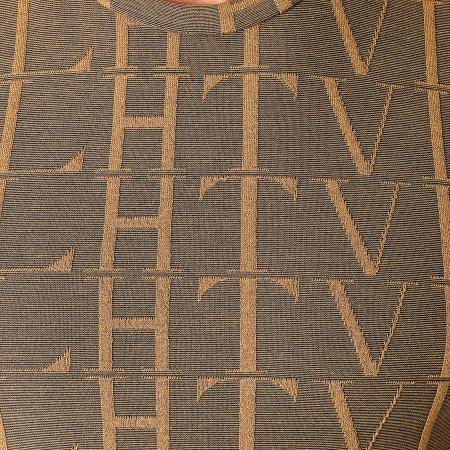 Frilivin - Tee Shirt Manches Longues Oversize U2139 Moutarde Foncé