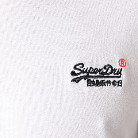 Superdry - Tee Shirt OL Vintage Embroidered M1010206A Blanc