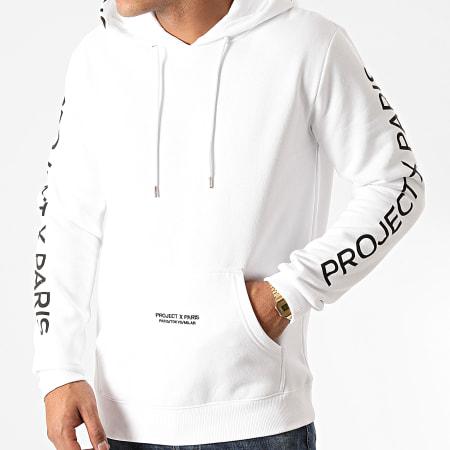 Project X - Sweat Capuche 2020073 Blanc