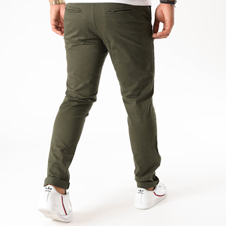 Jack And Jones - Pantalon Chino Marco Bowie Vert Kaki