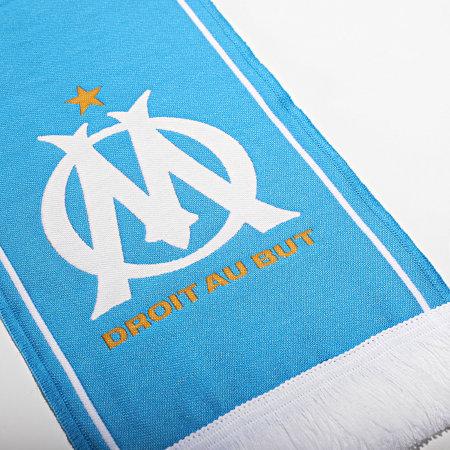OM - Echarpe Droit Au But M20050 Bleu Ciel