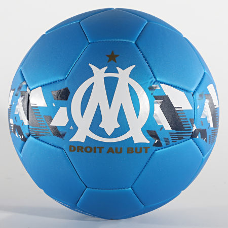 OM - Ballon De Foot OM Metallic M20064 Bleu