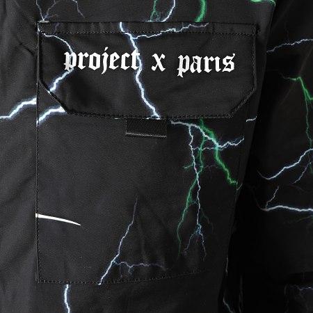 Project X - Coupe-Vent Capuche 2030092 Noir