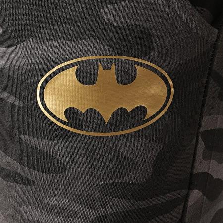Batman - Pantalon Jogging Batman Logo Camouflage Noir Doré