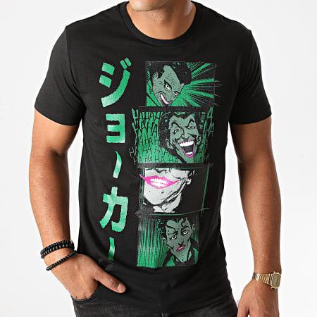 Batman - Tee Shirt Joker Comics Noir