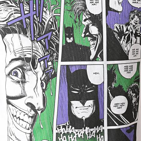 Batman - Tee Shirt Joker Comics Blanc