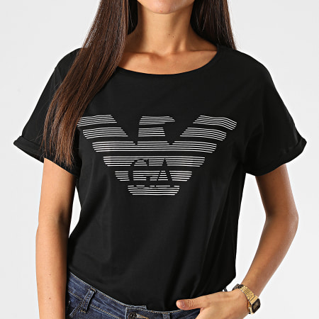Emporio Armani - Tee Shirt Organic 164340 Noir