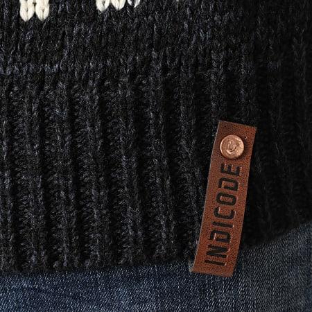 Indicode Jeans - Pull Crassus 35-386 Noir