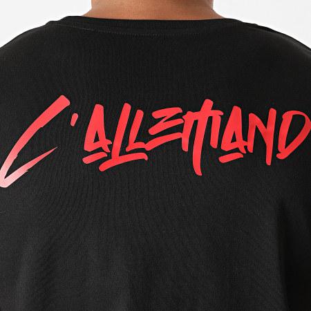 L'Allemand - Tee Shirt Rats Noir Rouge