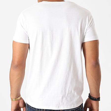 Schott NYC - Tee Shirt Basic Blanc
