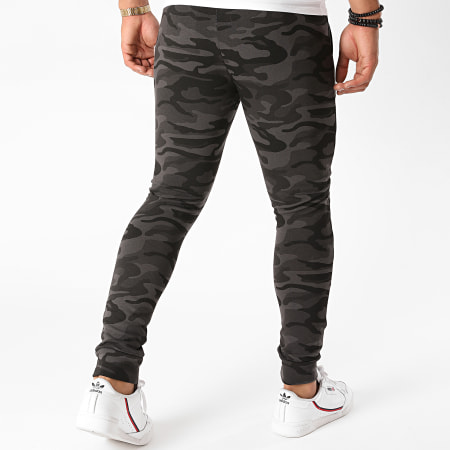 Superman - Pantalon Jogging Superman Logo Camouflage Noir Doré