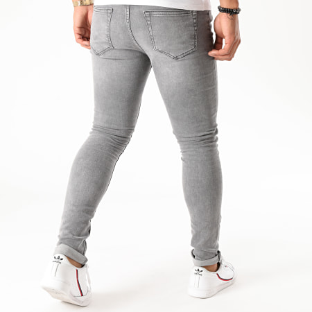 Only And Sons - Jean Skinny Warp Life Gris