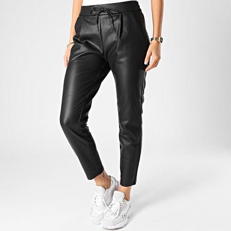 Vero Moda - Pantalon Femme Eva Noir