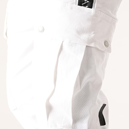 Gianni Kavanagh - Jogger Pant A Bandes GKM000721 Blanc