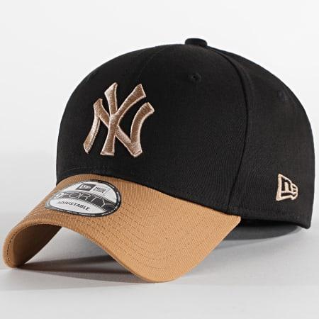 New Era - Casquette Essential 940 New York Yankees 12589245 Camel Noir