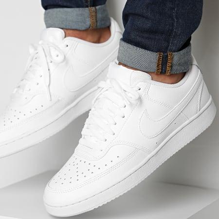 Nike - Baskets Court Vision LO White - LaBoutiqueOfficielle.com