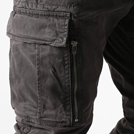 Superdry - Pantalon Cargo Recruit Grip 2.0 M7010186A Gris Anthracite