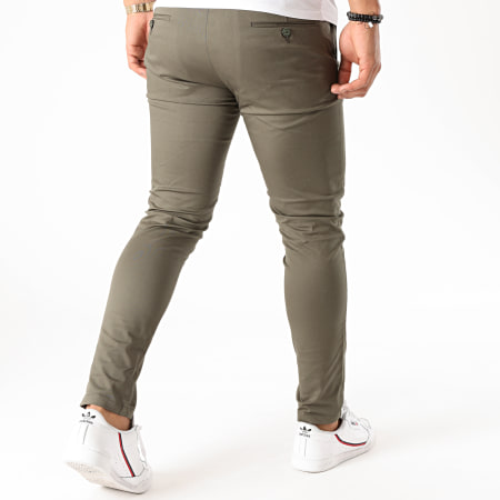 Mackten - Pantalon Chino MKP-104 Vert Kaki