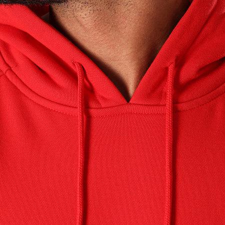 Urban Classics - Sweat Capuche Blank TB014 Rouge