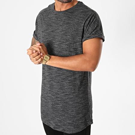 Urban Classics - Tee Shirt Oversize TB1769 Gris Anthracite Chiné