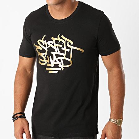 Swift Guad - Tee Shirt Brush Noir Doré