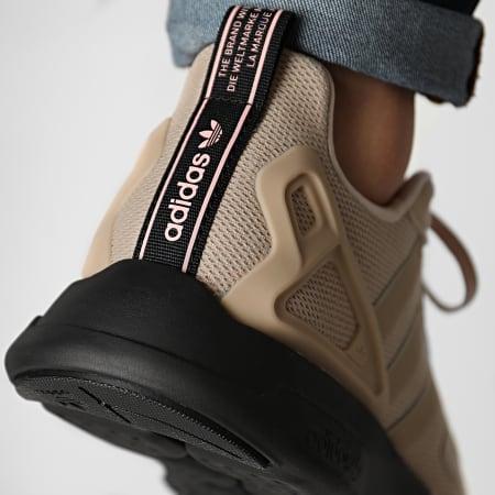 adidas - Baskets ZX 2K Flux FV9977 Pale Nude Core Black Vapour Pink