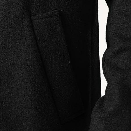 Solid - Manteau Fayette Noir