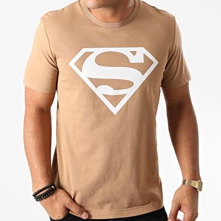 Superman - Tee Shirt Superman Logo Camel
