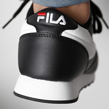 Fila - Baskets Orbit Low 1010263 Black White