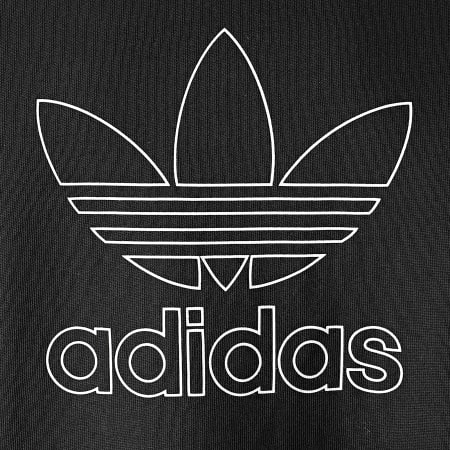 adidas - Tee Shirt Manches Longues Back + Front Trefoil GE0859 Noir